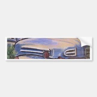 古いヴィンテージのトラックの芸術 バンパーステッカー