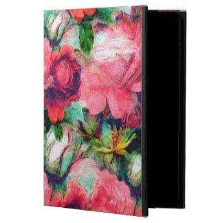 古いヴィンテージのバラ POWIS iPad AIR 2 ケース