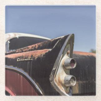 古いヴィンテージ車 ガラスコースター