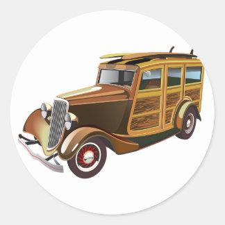 古いヴィンテージ車 ラウンドシール