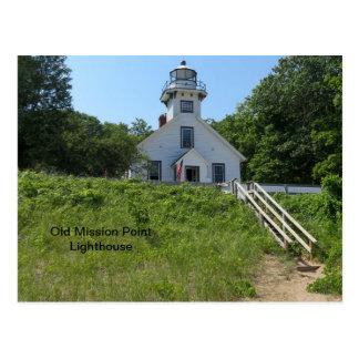 古い代表団ポイント灯台 ポストカード
