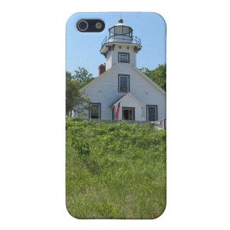 古い代表団ポイント灯台 iPhone SE/5/5sケース