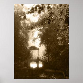古い公園 ポスター