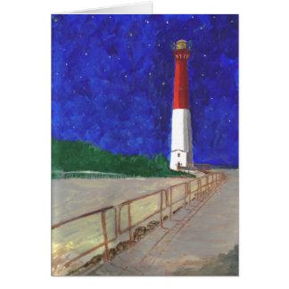 古い口論の灯台、NJ カード