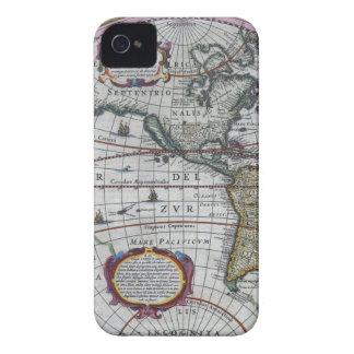 古い地図アメリカ大陸 Case-Mate iPhone 4 ケース