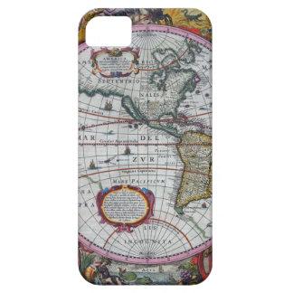 古い地図アメリカ大陸 iPhone SE/5/5s ケース