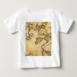 古い地図 ベビーTシャツ