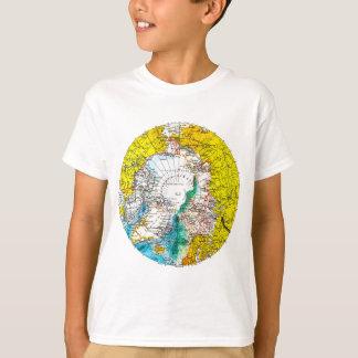 古い地図 Tシャツ