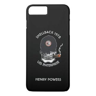 古い塩のスカルのカスタム iPhone 8 PLUS/7 PLUSケース