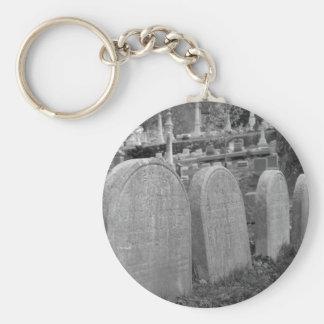 古い墓石 キーホルダー
