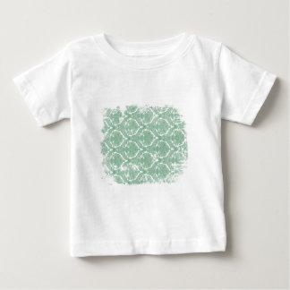 古い壁紙パターン ベビーTシャツ