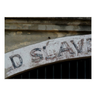 古い奴隷の市場、チャールストンサウスカロライナ ポスター