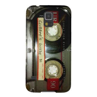 古い学校のカセットテープ GALAXY S5 ケース