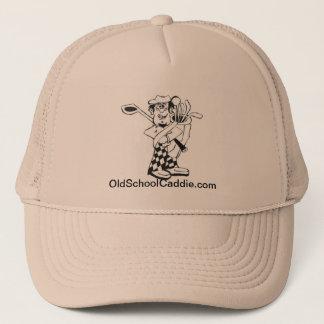 古い学校のキャディーの帽子 キャップ