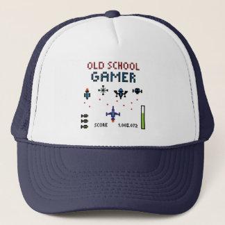 古い学校のゲーマー-宇宙船-帽子 キャップ