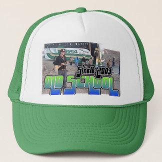 古い学校のトラック運転手の帽子 キャップ