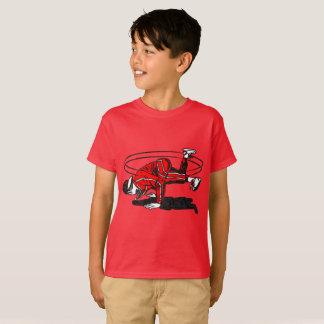 古い学校のヒップホップBreakdancer Tシャツ