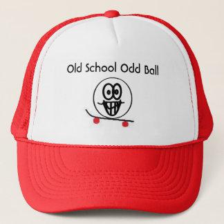 古い学校の異様な球 キャップ