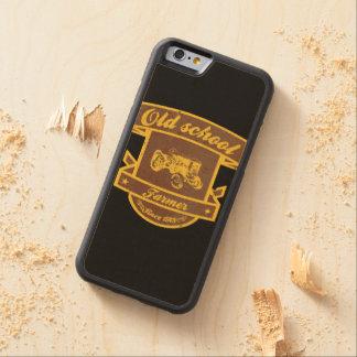古い学校の農家 CarvedメープルiPhone 6バンパーケース