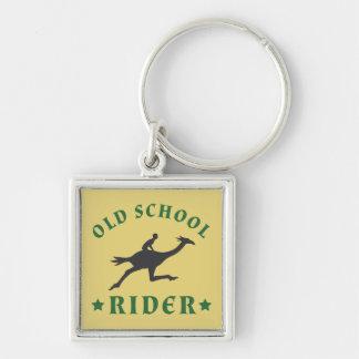 古い学校の鳥のライダー キーホルダー