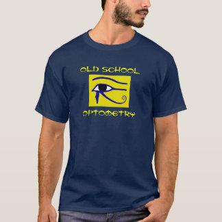 古い学校のOptometry Tシャツ