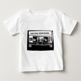 古い学校カセット ベビーTシャツ