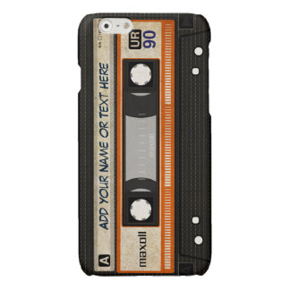 古い学校80s DJの音楽カセットテープパターン