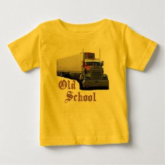 古い学校 ベビーTシャツ