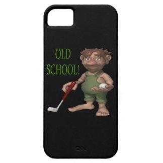 古い学校 iPhone SE/5/5s ケース