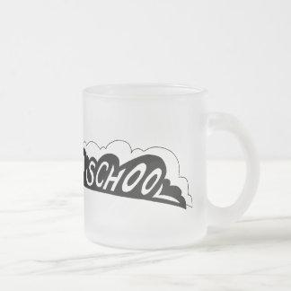 古い学校Camaro -曇らされたマグ フロストグラスマグカップ