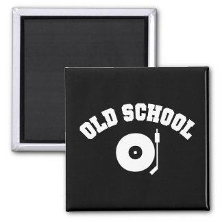 古い学校DJのレコードプレーヤ マグネット