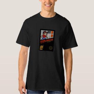 古い学校NESのスタイルStarLord24xカバー Tシャツ