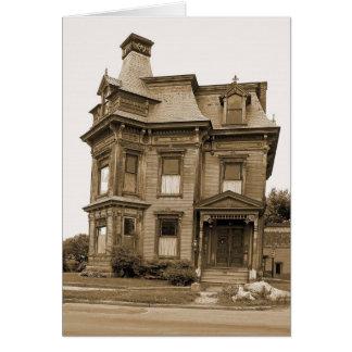 古い家のPlattsburgh カード