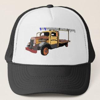 古い屋根ふきのトラックの帽子 キャップ