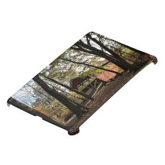 古い屋根付橋 iPad MINIケース