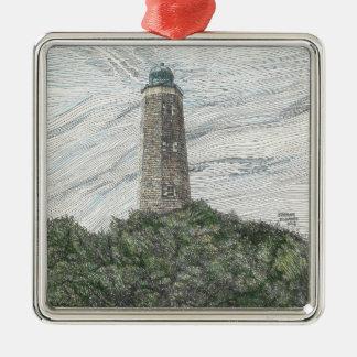 古い岬のヘンリーの灯台オーナメント メタルオーナメント