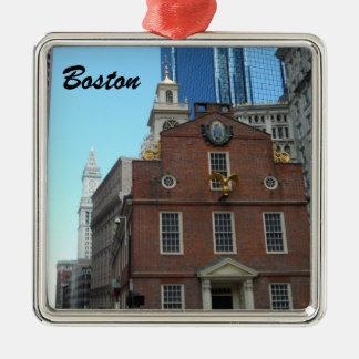 古い州の家、ボストン メタルオーナメント