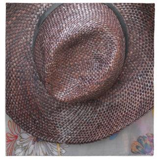古い帽子 ナプキンクロス