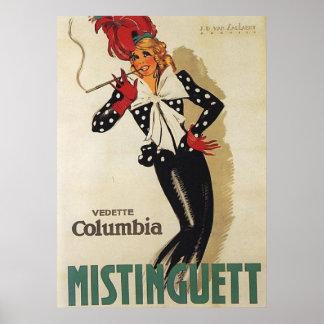 古い広告のコレクション ポスター