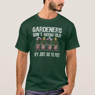 古い庭師 Tシャツ