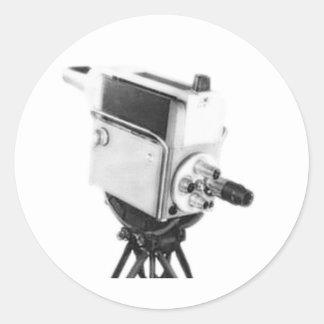 古い放送TVカメラTK ラウンドシール