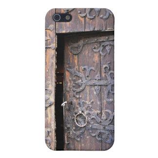 古い教会ドアゴトランドゴシック様式スウェーデン iPhone 5 カバー