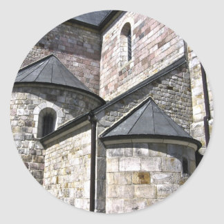 古い教会 ラウンドシール