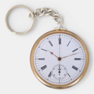 古い時計の旧式な壊中時計 キーホルダー