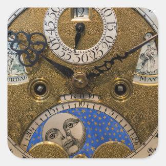 古い時計、ドイツの閉めて下さい スクエアシール