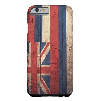 古い木のハワイの旗のiPhone6ケース Barely There iPhone 6 ケース