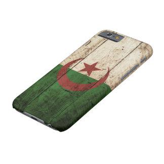 古い木製の穀物のアルジェリアの旗 BARELY THERE iPhone 6 ケース