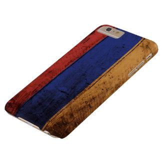 古い木製の穀物のアルメニアの旗 BARELY THERE iPhone 6 PLUS ケース