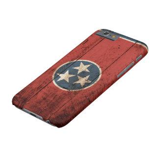 古い木製の穀物のテネシー州の州の旗 BARELY THERE iPhone 6 ケース