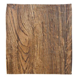 古い木製の穀物の一見 バンダナ